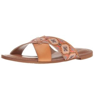 Roxy Women's Rocio Embroidered Slide Sandal